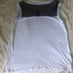 torrid Tops - Torrid White Mesh Embellished Tank Top size 0